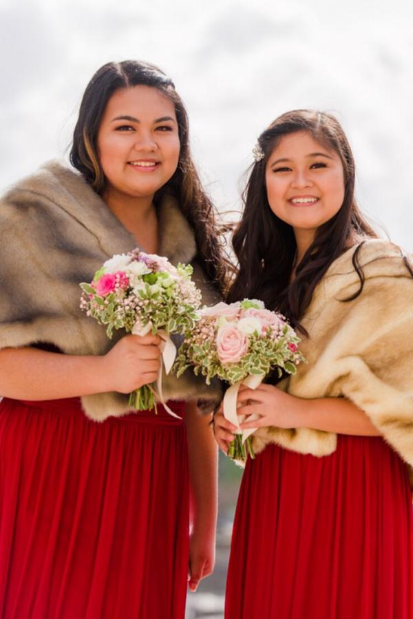 bridesmaids paris bouquet
