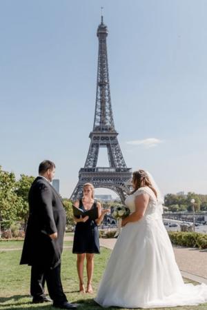 Paris Wedding Officiant