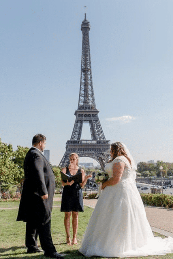 Paris Wedding Officiant