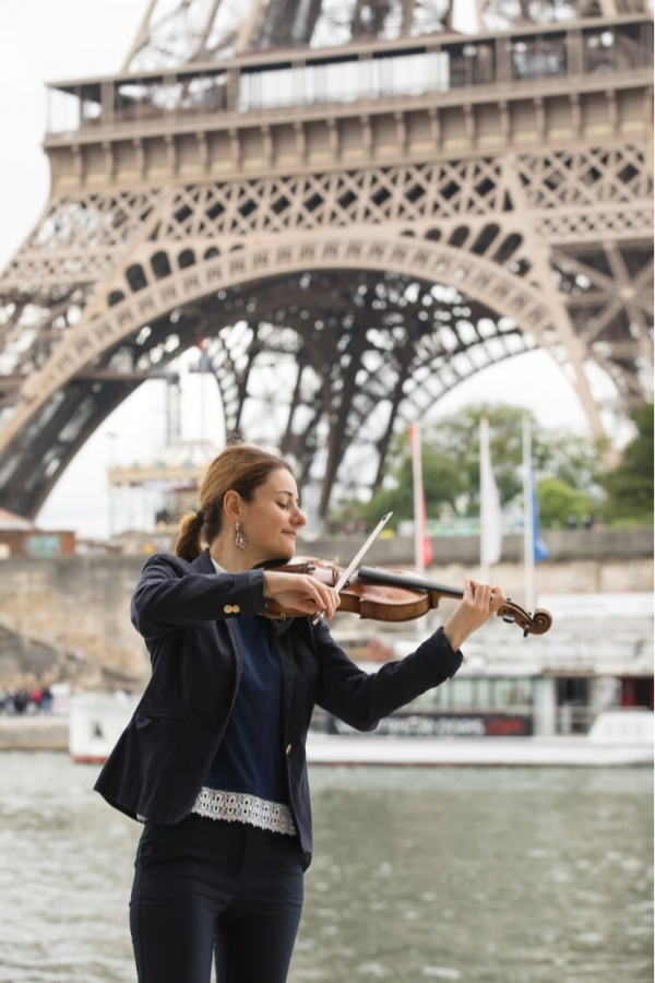 live violin paris wedding