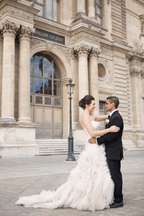 Paris elopement first dance