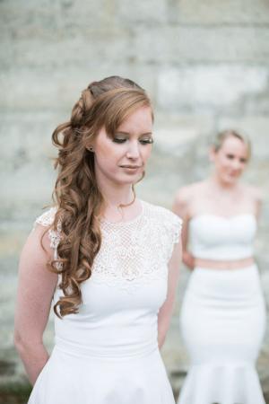 Bride hair and makeup service in Paris