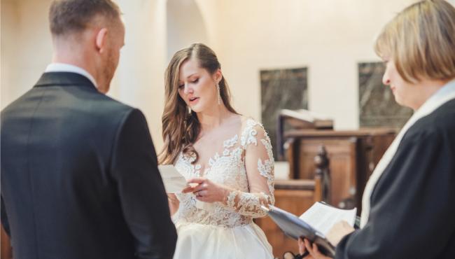 wedding vows-paris-church