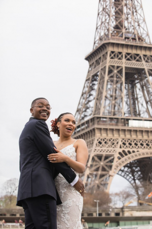 video of paris wedding ceremony