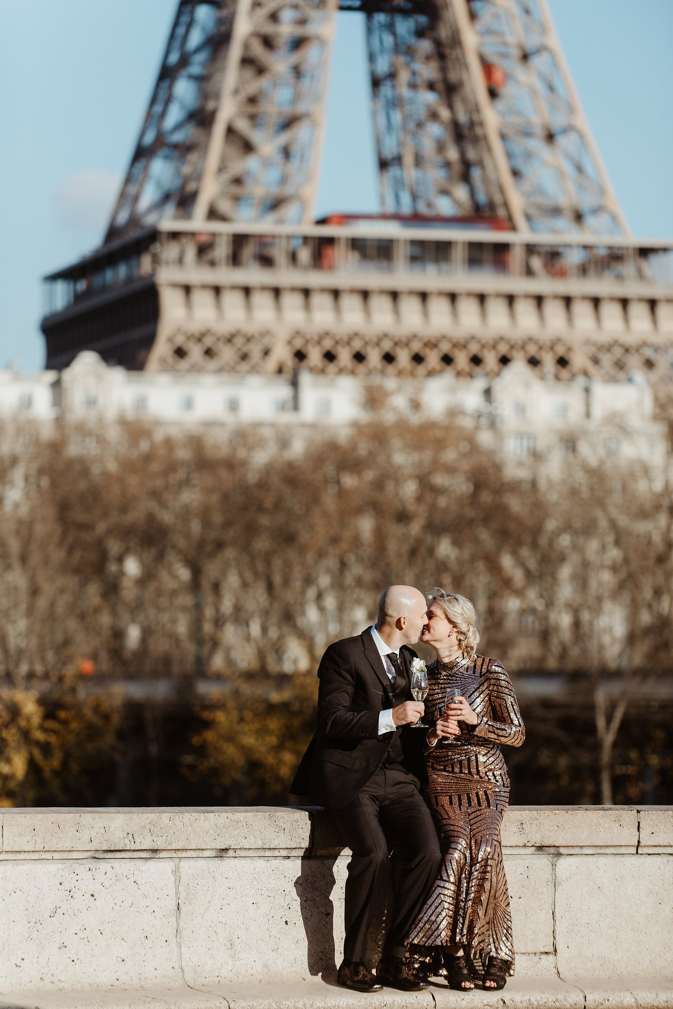 Eiffel Tower Renewal of Vows