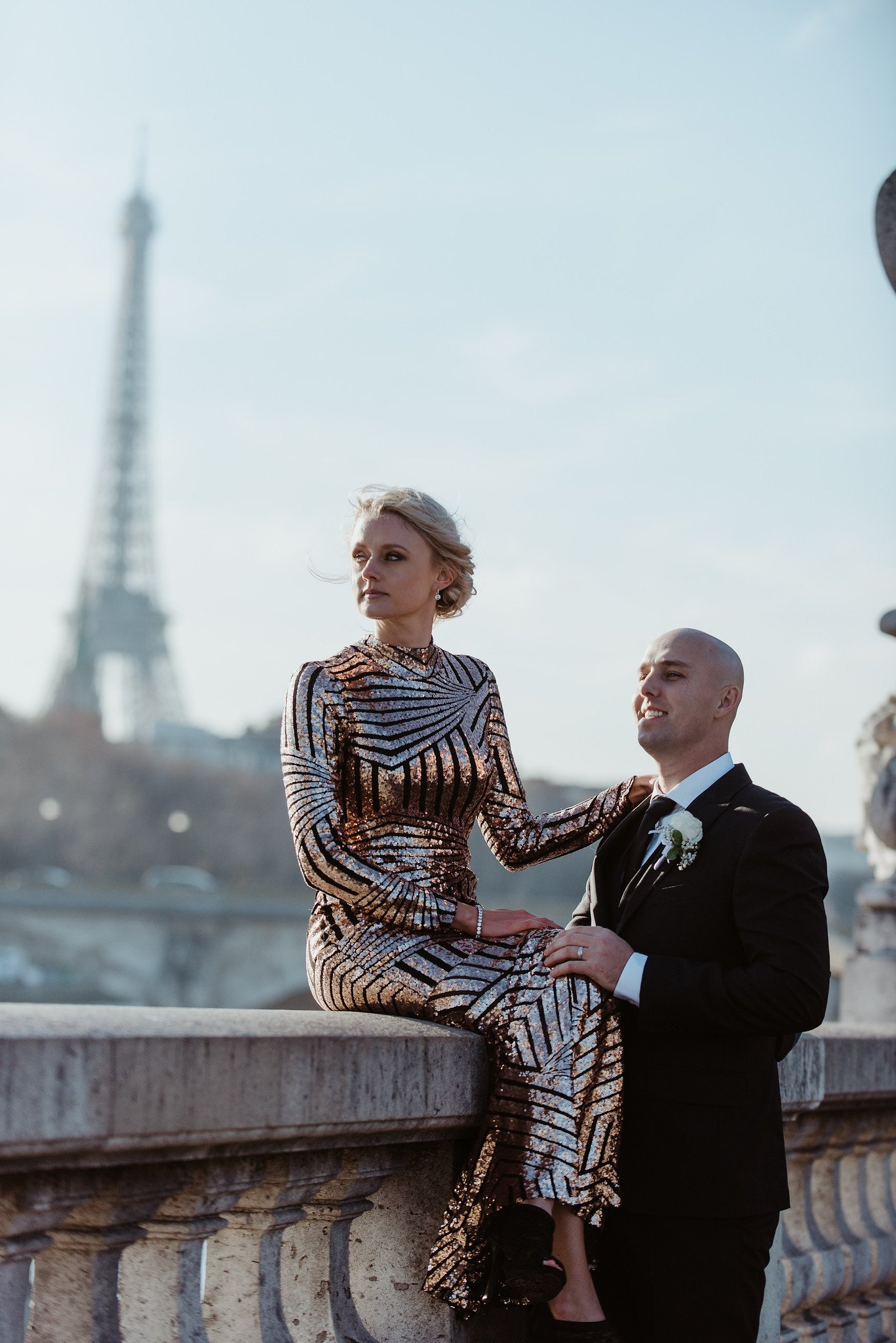 Paris Vow Renewal Photography